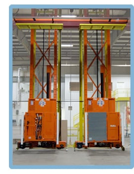 LPI Personnel Lifts for Material Handling