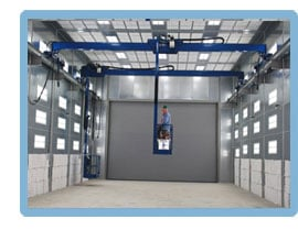 Blast Booth, Blast Room Man Lifts from LPI