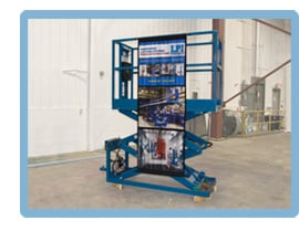 LPI Scissor Lifts, Elevated Work Platforms