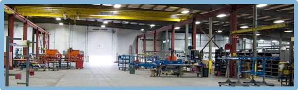 LPI Manufacturing Facilities, Custom Lift Systems, Fall Protection