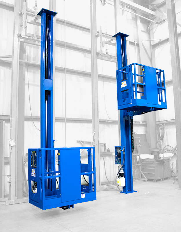 Single Axis Paint/Powder Booth Lifts