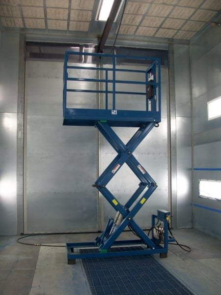 LPSM & LPSMT Stationary and Manually Positioned Scissor Lifts