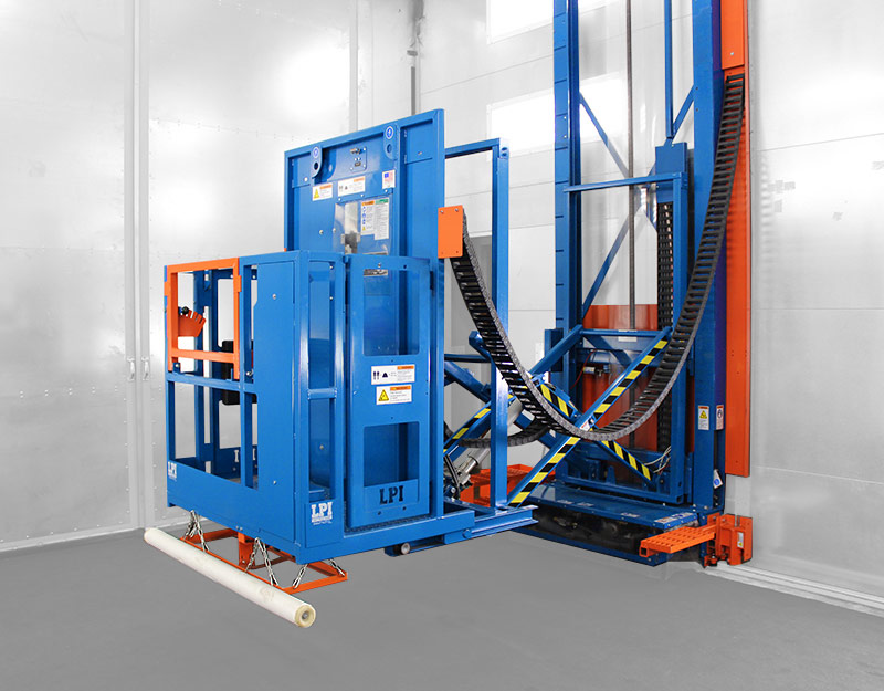 3-Axis Paint Booth Lift