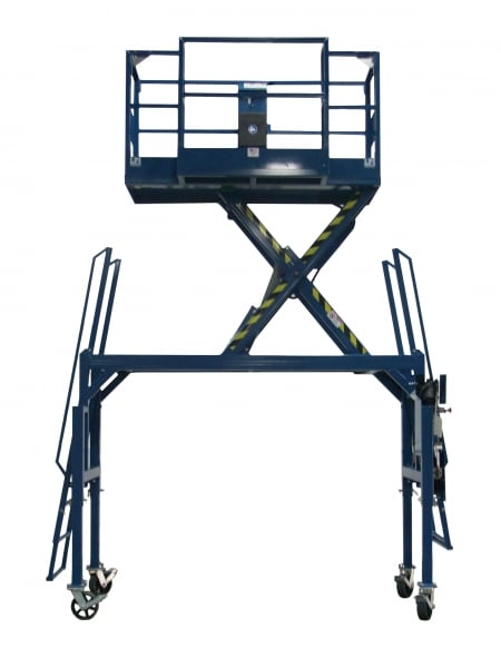 Straddle Base Scissor Lift