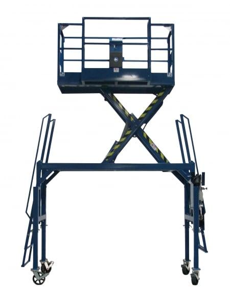 LPI Lift Systems | Straddle Base Scissor Lift