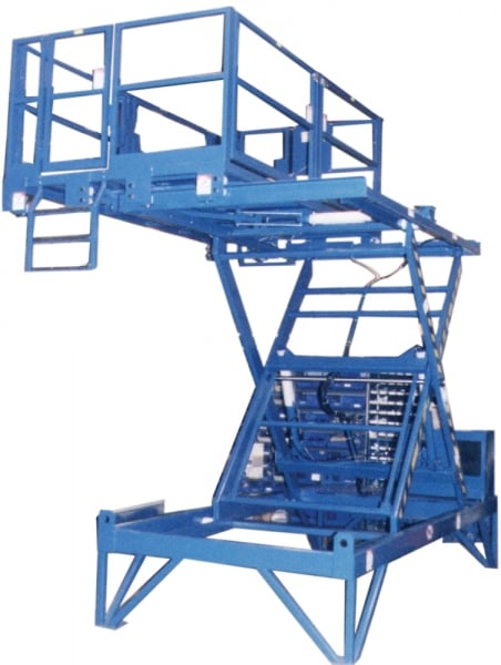Side Shift Scissor Lift